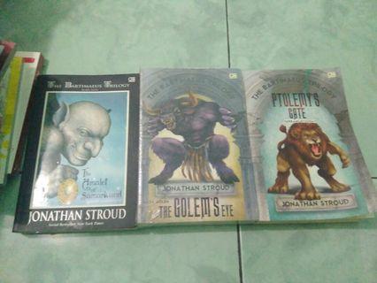Bartimaeus Trilogi by Jonathan Stroud