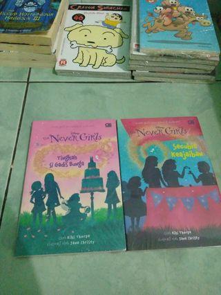 Novel Disney Never Girls Original