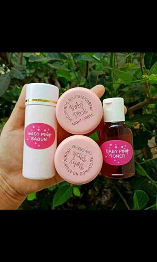 Cream Baby pink termurah / pemutih wajah