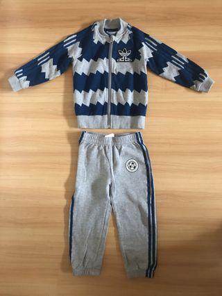 Adidas Kids Track Suit Set For Sale