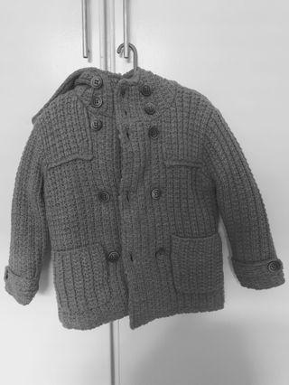 Zara Kids Knitted/Wool Jacket For Sale
