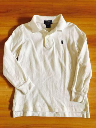 Polo Ralph Lauren Kids Long Sleeve Collared Tshirt For Sale
