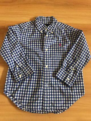 Polo Ralph Lauren Kids Long Sleeve Shirt For Sale