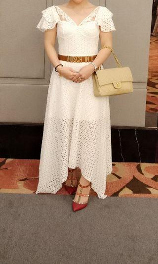 Duchess & Co white dress