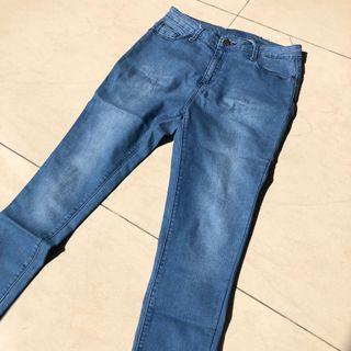 PRIMARK BASIC DENIM PANTS - Blue (100% ORIGINAL)