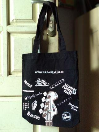 Canvas Totebag : indie bands