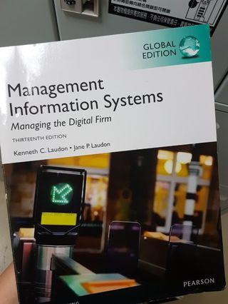 Management Information Systems (管理資訊系統)
