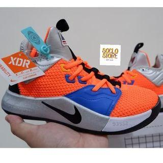 Sneakers Sepatu Basket Kids Anak Nike PG 3 NASA Unauthorized Authentic UA BNIB