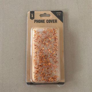 iPhone 6 / 6s gold copper glitter phone case