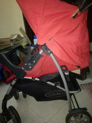 Stroller Graco mirage second Bagus