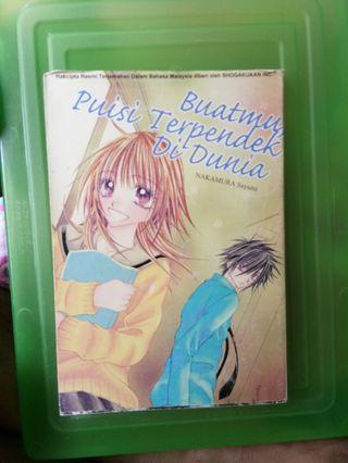 Manga / komik : Buatmu, Puisi Terpendek Di Dunia