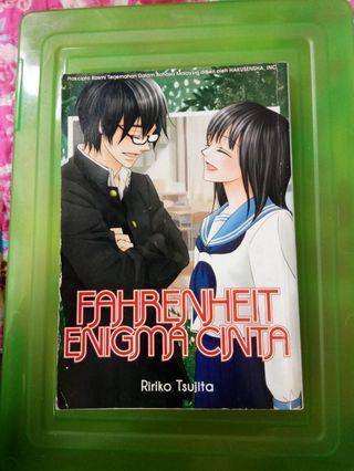 Manga / komik : Fahrenheit Enigma Cinta