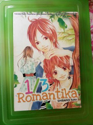 Manga / komik : 1/3 Romantika