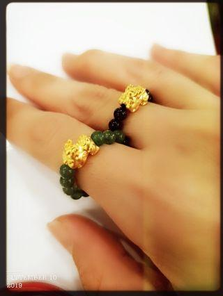 Pure Gold 999 Pixiu Baby Ring