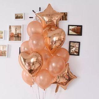 Rose Gold Mix Balloons