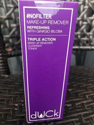 Duck Cosmetics Makeup Remover (Refreshing with Gingko Biloba)