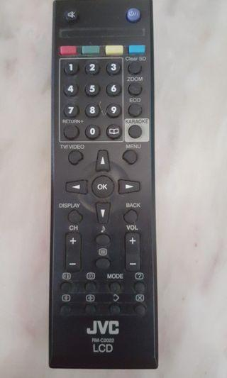 JVC LCD Remote Control