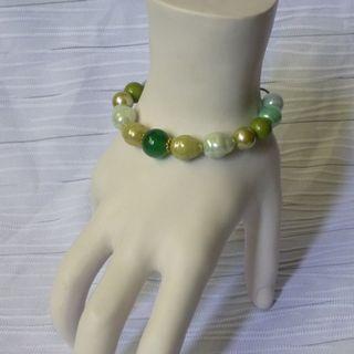 啟示性手鍊 手環 綠色系列~神的醫治 Healing