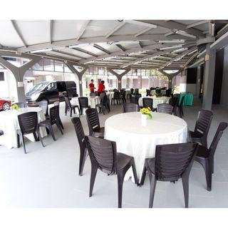 [Rent] Tables and Chairs Rent Rental Cheap Deliver Setup Event Function Wedding Birthday Party Flee Market Roadshow Kenduri Buffet BBQ Barbecue Barbeque Rental Open House Celebration 35