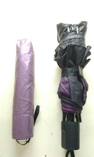 紫 雨傘 陽傘 兩把 賣場內有圖