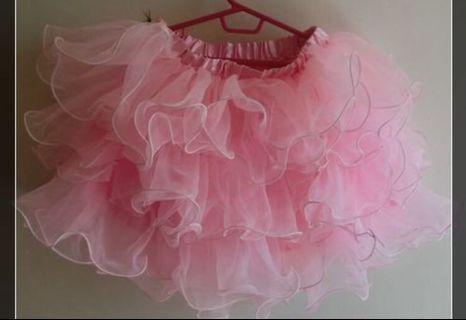 粉紅澎裙 120~135cm 無污損 低價出售