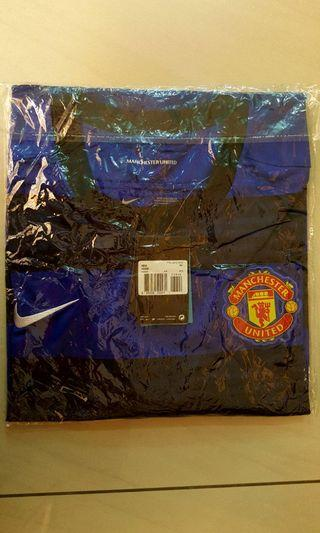 Genuine New Manchester United AON Blue Jersey Collection Size 3XL