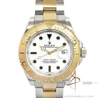 Rolex YachtMaster 40 Ref 16623 Rolesor White (2005)
