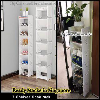 Shoe Rack BTO HDB FLATS 7 shelves furniture