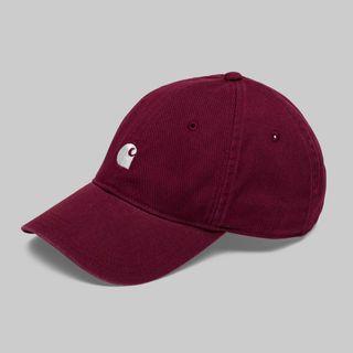 Carhartt wip Madison cap 卡哈 帽 酒紅 歐線 老帽