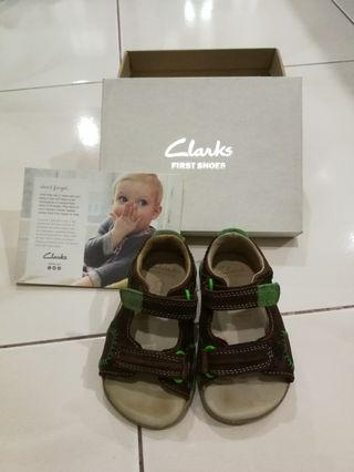 Clarks First Shoes Softly Bay Fst Sandals