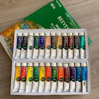 Reeves Acrylic 24 Artist Colours