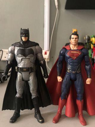 DC Multiverse BVS Batman & Movie Masters Superman
