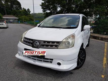 2009 Nissan Grand Livina 1.6 (A) Muka 1K Loan Kedai