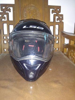 Helm LS2 bekas original modular full face murah banget