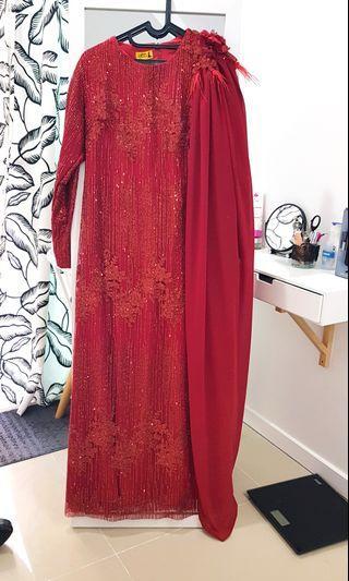 Griya qus custom gown