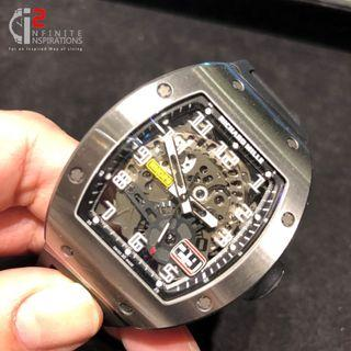 Richard Mille RM029 Big Date Titanium – Preloved Complete Set with  Box and Papers.