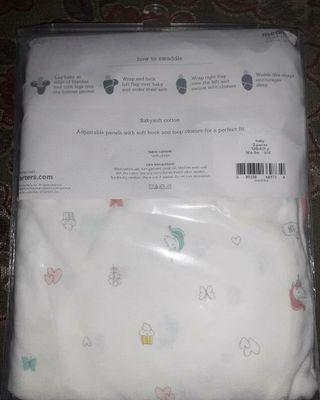 Carter's Little Swaddle Wraps ( Bedong Instan / Instant Swaddle)