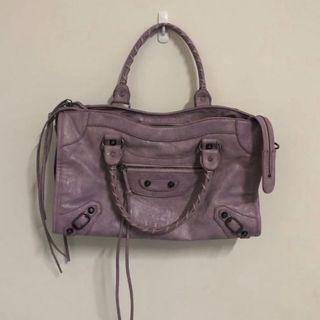 淡紫色機車包