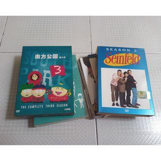 Seinfeld and South Park dvd
