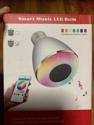 Smart Music LED Bulb