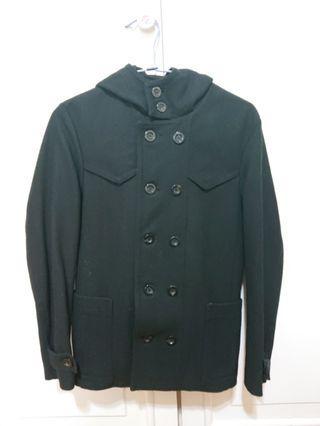 🌬韓國TASSO 質感雙排釦大衣 M號