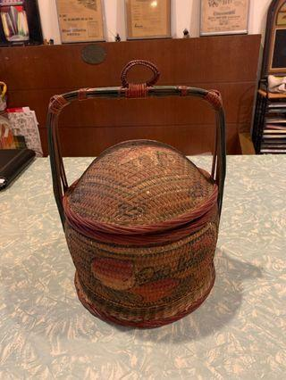 Peranakan wedding basket
