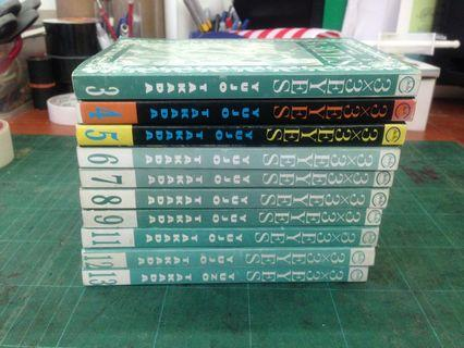 3x3 Eyes Manga Lot