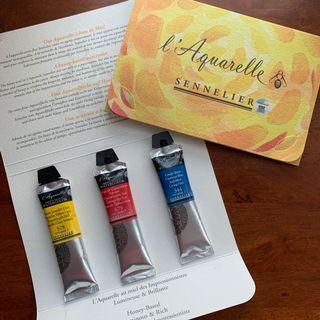 Sennelier l'aquarelle 5ml trial pack