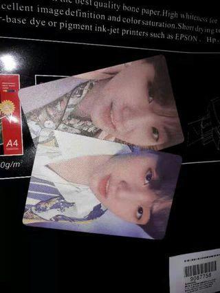 BTS photocard