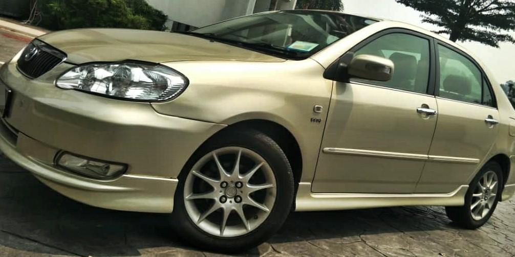 2007 Toyota ALTIS 1.8 (A) DEP 2990 LOAN KEDAI KERETA