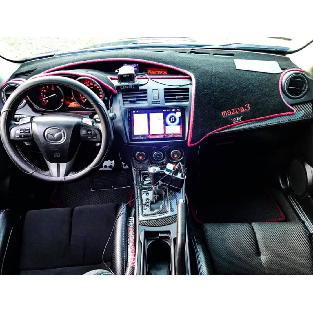 2009年 Mazda3 5D 車在桃園