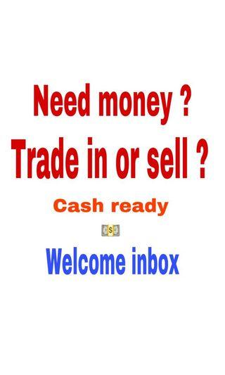 Sell your goods to us