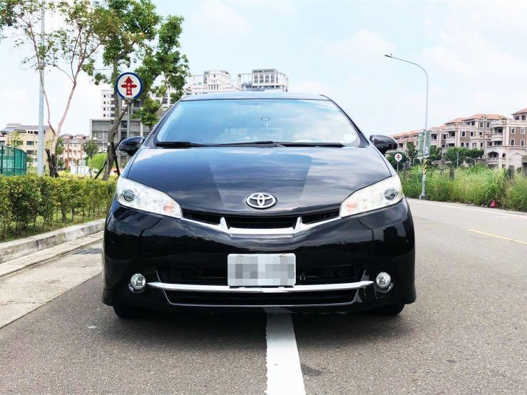 2010豐田 wish 2.0 純跑八萬 七人座 定速、導航、影音