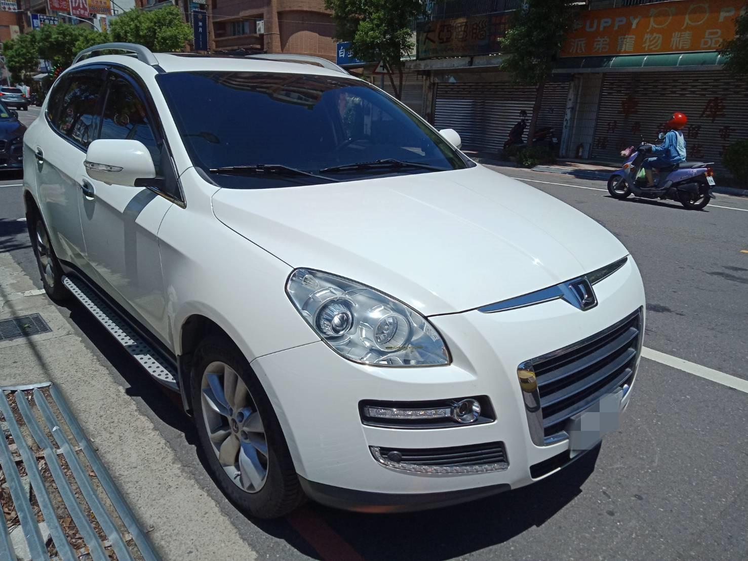 2011年 U7 白 旗艦版 2.2 跑8萬 熱門車中古車二手車